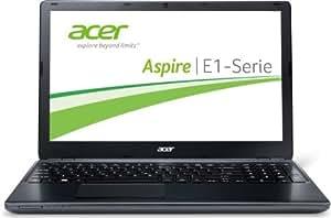 Acer Aspire E1-510-35204G50MNKK 39,6 cm (15,6 Zoll) Notebook (Intel Pentium N3520, 2,42 GHz, 4GB RAM, 500GB HDD, Intel HD,kein Betriebssystem) schwarz