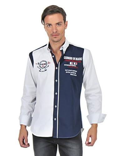 Giorgio Di Mare Camicia Uomo 9529 [Bianco]