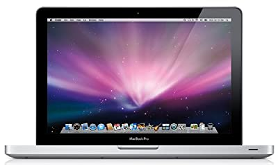 Apple MacBook Pro MB990D/A 33 cm (13 Zoll) Notebook (Intel Core 2 Duo 2.2GHz, 2GB RAM, 160GB HDD, Nvidia GeForce 9400M, DVD+- DL RW, Mac OS)