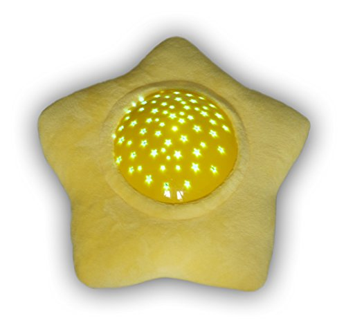 Niermann Standby Night Light Soft Star Projector, Yellow