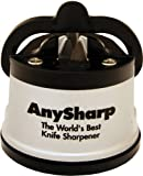 AnySharp Global World's Best Knife Sharpener (Silver)