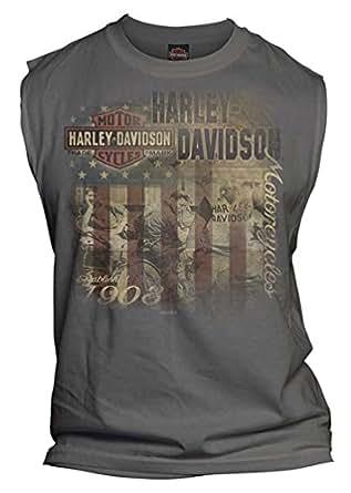 harley davidson s sleeveless vintage