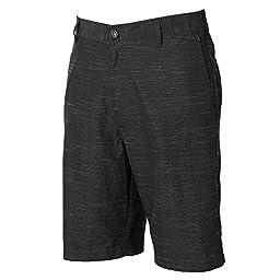 Billabong Men\'s Crossfire X Slub Submersible Shorts, Black, 30