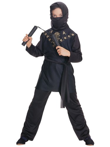 Rubies Black Ninja Child Costume