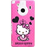 [au REGZA Phone IS04専用]ハローキティケース&画面保護フィルム アイドレス(ハートピンク) ID-63KT