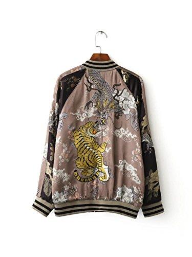 &zhou Ladies lana corto/autunno/inverno camicia cappotto/lungo manicotto esterno / / / vento/sciolto China National , black , l