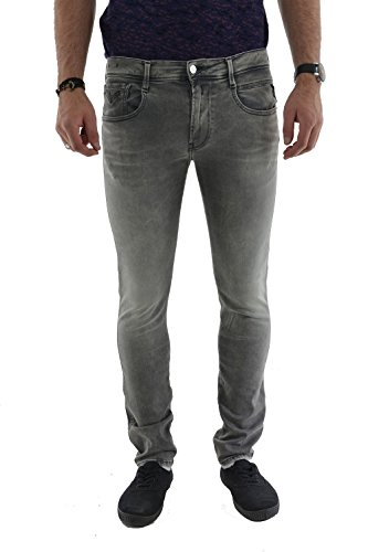 Replay -  Jeans  - Uomo Grey W32 / L32