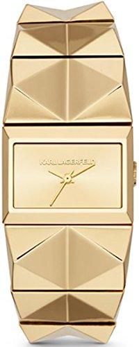 Spedizione casella donna-orologio Karl XS in acciaio inox al quarzo KL2604