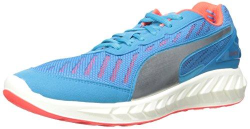 PUMA Men's Ignite Ultimate Running Shoe, Atomic Blue/Red Blast, 11 D US