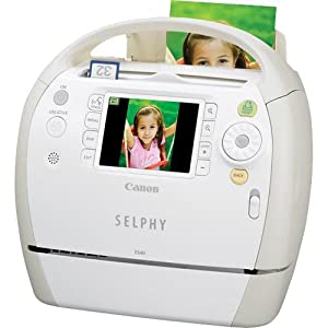 Canon SELPHY ES40 Compact Photo Printer (3647B001)