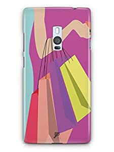 YuBingo Shopping Bags Mobile Case Back Cover for OnePlus 2