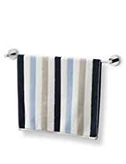 Cable Striped Towel