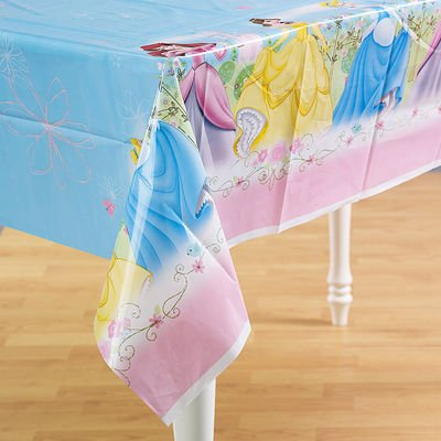 Disney's Princess Fairy Tale Friends Plastic Tablecover - 1