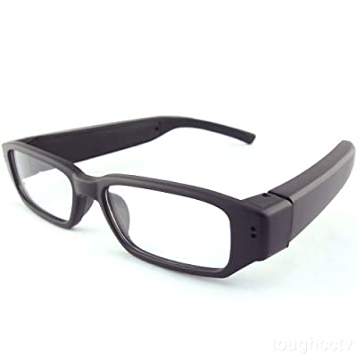 "Toughstyâ""¢ 8GB 1280x720P HD Hidden Camera Glasses Video Recorder Mini DVR Security Camcorder from Toughsty Tech Co Ltd"