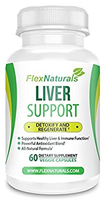 Liver Support and Clense Supplement with Turmeric Root, designed to Boost Liver Function, Increase Bile Production, and Aid in Liver Repair