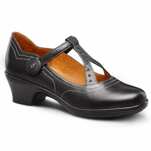 Dr. Comfort Carmen Women's Diabetic Extra Depth Heel Dress Shoe: Black 8.5