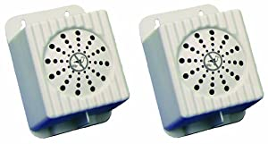 Bird B Gone MMSONIC-SP2 Extra Speakers for Super Sonics Bird Repellant