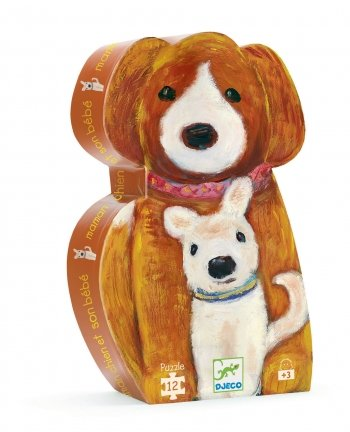 Cheap Fun Djeco Mummy Dog and Her Baby (B001EKW5YO)