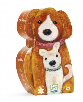 Cheap Fun Djeco Mummy Dog and Her Baby (B001EKW5YO)