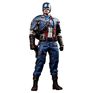 Captain America The First Avenger Hot Toys Movie Masterpiece 1/6 Scale