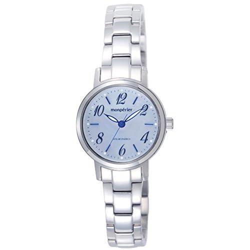 [リコー]RICOH 腕時計 モンペリエ・エミット ソーラー充電式 3気圧防水 ブルーシェル 699005-03 レディース