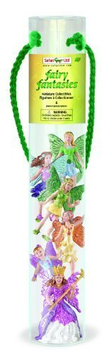 Safari Ltd Fairy Fantasies Toy Figurine TOOB, Including 6 Winged Fairies (Discontinued by manufacturer) (Peter Pan Figurine Set compare prices)