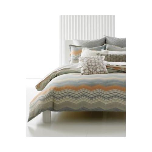 Amazon.com - Bar III Bedding Moto Full / Queen Comforter
