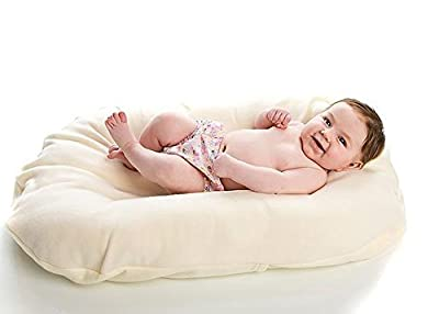 Snuggle Me Organic-Infant Lounger and Bed-Sharing Cushion