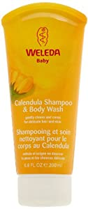 Weleda Calendula Shampoo and Body Wash, 6.8-Ounce