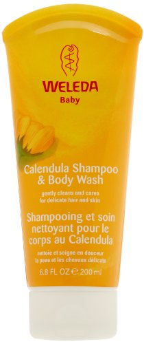 Weleda Baby Calendula Shampoo and Bodywash 6.8 oz