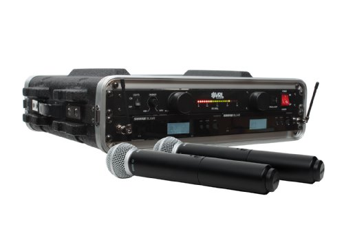 Shure Blx24R/Sm58 2 Pack Wireless Handheld Mic System With Vrl Power Supply