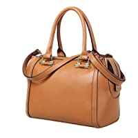 Fineplus Women's High Class Doctor-style Leather Handbag Tote Bag