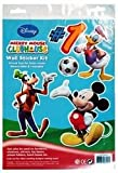 Ddi - Disney Mickey Mouse 14x9.5?Wall Sticker Kit (1 pack of 72 items)