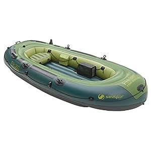 Sevylor fish hunter inflatable boat green for Fish hunter raft