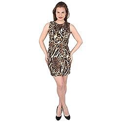Tenn Women's Mini Dress (BRAP11NSXS_Medium_Multi)