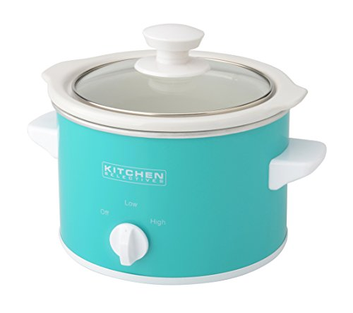 Kitchen Selectives: Kitchen Selectives Slow Cooker, 1.5-Quart, Turquoise Home