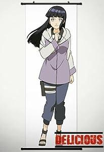 Home Decor Japanese Anime Naruto Cosplay Wall Scroll Poster Hyuuga Hinata 17.7 X 49.2 Inches-P104464001