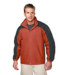 Big Mens Meridian Jacket with Concealable Hood by TR Gold
