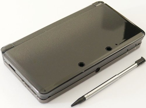 Cosmo Black Nintendo 3DS Complete Full Housing Shell Case Replacement Repair Fix [video games]
