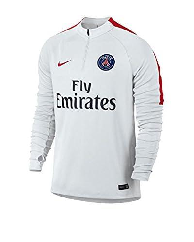 Nike Longsleeve PSG Y Dril Top SQD [Bianco]