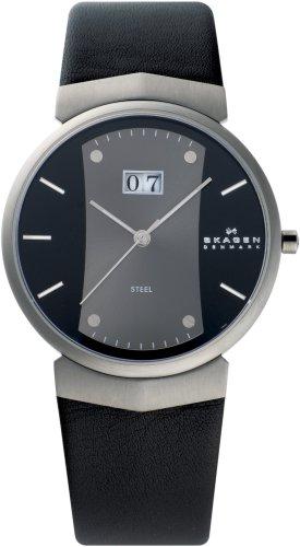 SKAGEN (スカーゲン) 腕時計 basic leather mens 697XLMLMB ケース幅: 40mm メンズ [正規輸入品]