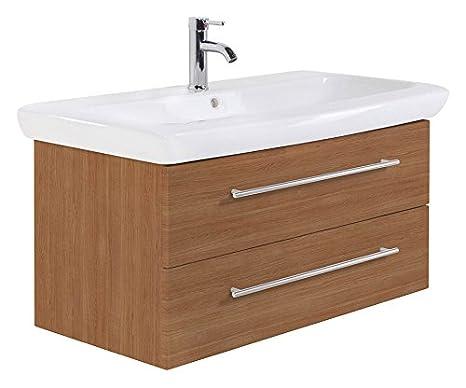 Bathroom Cabinet Keramag IT! 100 cm light oak satin