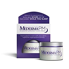 Tonight is the night change can begin, with Mederma PM Intensive Overnight Scar Cream. It's the first and only overnight scar cream specifically formulated to work while you sleep. During sleep our bodies work harder to reverse the skin damage caused...