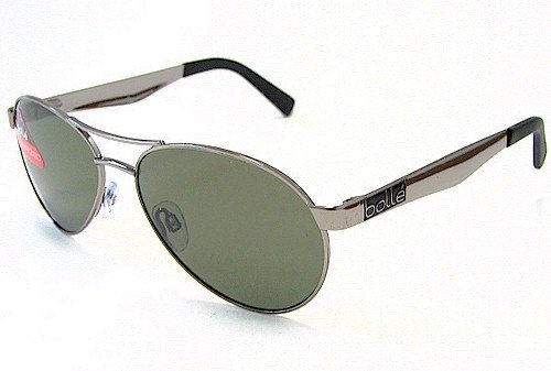 BOLLE Boulevard 11140 Sunglasses Chrome Polarized Shades