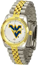 West Virginia Mountaineers Suntime Mens Executive Watch - NCAA College Athletics