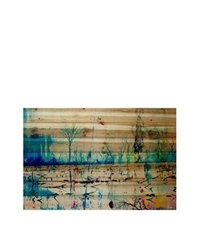Parvez Taj Morrison Lake Pine Wood Wall Art