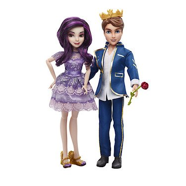 Disney Descendants – Doppelpack – 30cm Mal & Ben Puppe[UK Import] günstig