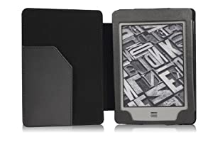 MoKo(TM) Cover Case for Amazon Kindle Touch, BLACK