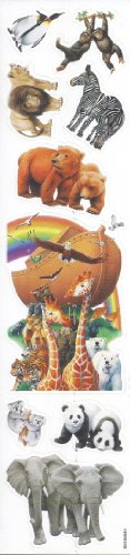 The Ark And Animals Stickers front-1062064