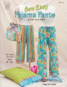 Sew Easy Pajama Pants (Taylor Made Designs) (Cindy Taylor Oates Sew compare prices)